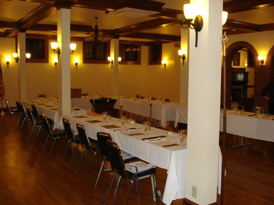 Social Hall Long Tables